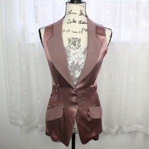 Vintage Mystic rose gold vest